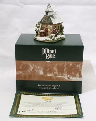 Beautiful Lilliput Lane Cottage - Holy Christmas L2946 - With Box & Deeds