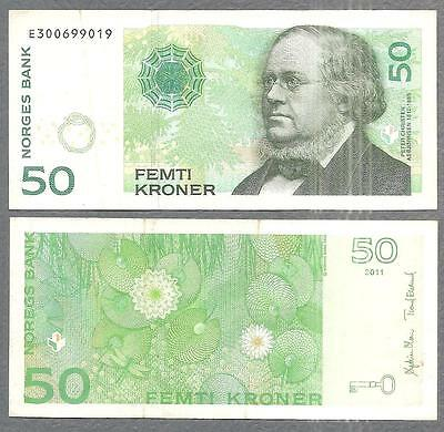 2011 Norges Bank (Norway) 50 Kroner
