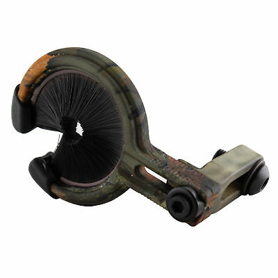 One arrow rest brush whisker hunting compound bow