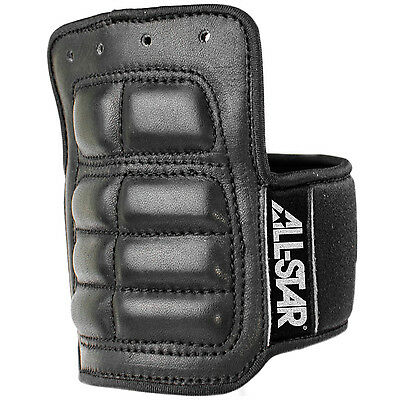 All-Star Pro Lace-On Catcher's Wrist Guard - Large