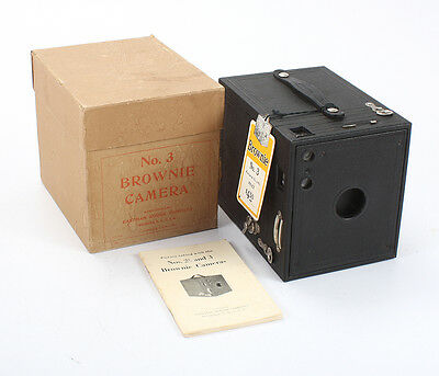 KODAK NO. 3 BROWNIE MODEL B + HANG TAG, BOXED/cks/195777