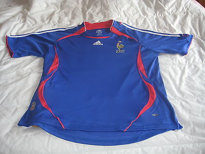 Superbe Authentique Maillot Adidas  Xl France Germany World Cup 2006