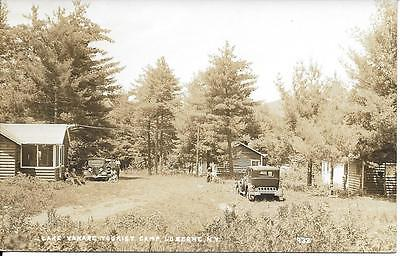 NY ~ VIEW of Lake and Mountains LAKE LUZERNE New York c1910