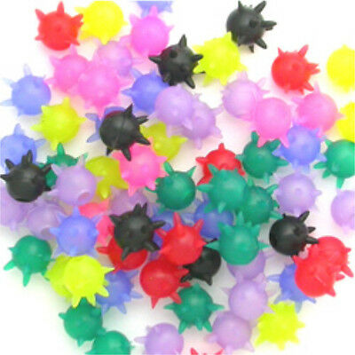 100pk Mace Tickler Silicone Tongue Ring Toppers Wholesale Lot