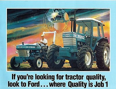 FORD 10 series TRACTORS INTRODUCTION  BROCHURE