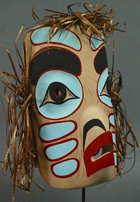 Big DRAGONFLY MASK Native Northwest Coast Indian NWC ROBERT THOMAS Stolo Nation
