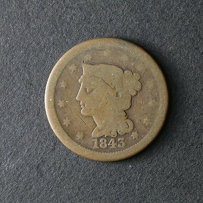 1843 Large Cent Great Deals From The TECC Bargain Bin