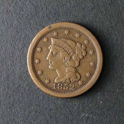 1852 Large Cent Great Deals From The TECC Bargain Bin