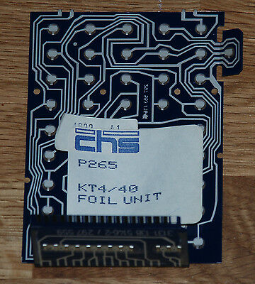 New Old Stock Philips Kt4 Kt40 Vintage Tv Replacement Remote Control Quantity 1