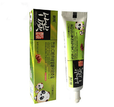 Bamboo Charcoal Black Toothpaste Secure Tooth Health Oral Care Remove Bad Breath