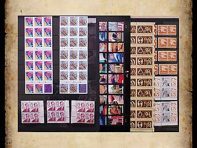 US Postage Stamps Face Value $42 + Unused Lot #9 Sheets Blocks Mixed