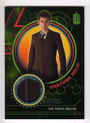 Dr. Doctor Who Extraterrestrial Encounters .. Tenth Doctor Costume Relic #19/199