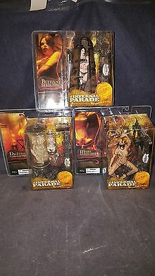 Mcfarlane Toys Clive Barker's The Infernal Parade 6 Figure Lot Nib