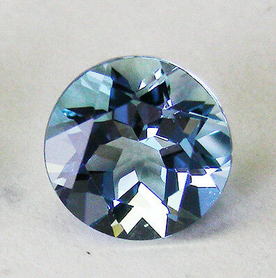 AQUAMARINE 2.45ct!! NATURAL COLOUR -EXPERTLY FACETED +CERTIFICATE AVAILABLE