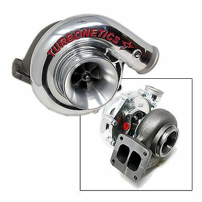 "Turbonetics T4 Turbocharger, T4 Divided Flange/3"" V-Band, .84A/R, 650+HP"