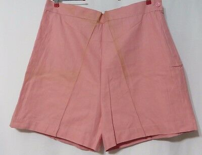 True Vintage Shorts 40s 50s Swing Rockabilly Pink Plus Size XL NOS VLV Pinup