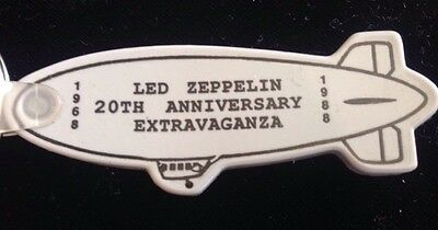 2 Rare Led Zeppelin 20Th Anniversary Extravaganza 1968–1988 Vintage Key Chains