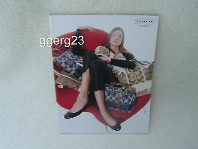 Authentic Coach 2007 Catalog Handbags, Shoes, Etc    061807A  Vgc