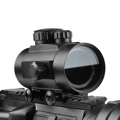 Dot Sight Scope 1X40 Red/Green Fit 20mm Picatinny Weaver Mount New