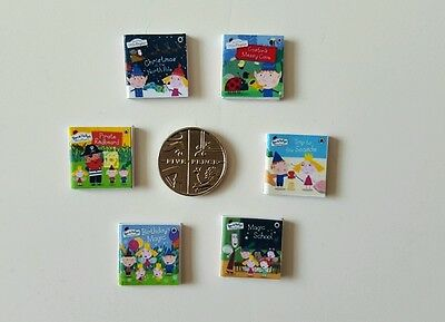 miniature dolls  house  Ben & Holly's  little kingdom Books 1.12 scale
