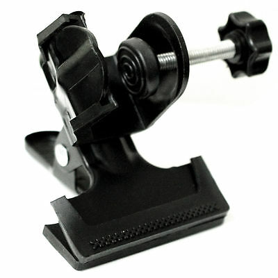 Lusana Studio Accessory 2 in 1 Mount C-Clamp with Rubber Stand Holder Clamp