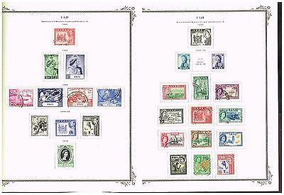 5 Pages Fiji   F-Vf Used Mh  (Uj16,2