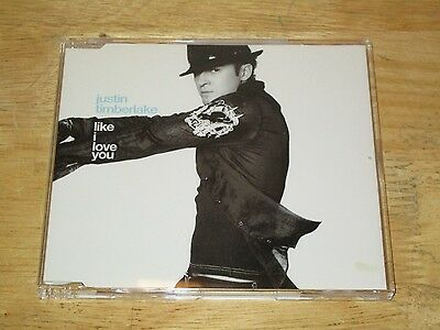 Like I Love You [Single] by Justin Timberlake (CD, Oct-2002, Bmg/Jive) Import