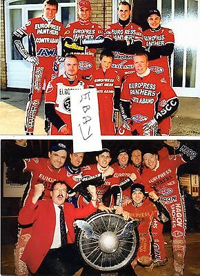 Speedway Team Photos. Peterborough Panthers X 2 Different