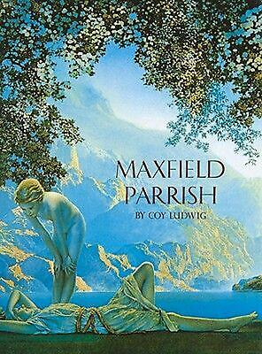 Maxfield Parrish by Coy Ludwig (English) Hardcover Book Free Shipping!