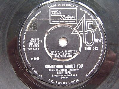 Four Tops - Something About You - Tamla Motown - Tmg 542 - Ex-  Condition