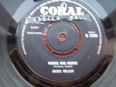 Northern Soul/mod, Jackie Wilson, Higher & Higher, 1967 Coral 72493,