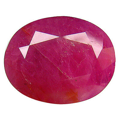 "7.12Ct ""GIL"" CERTIFIED UNIQUE COLLECTION AMAZING FIRE MOZAMBIQUE UNHEATED RUBY"