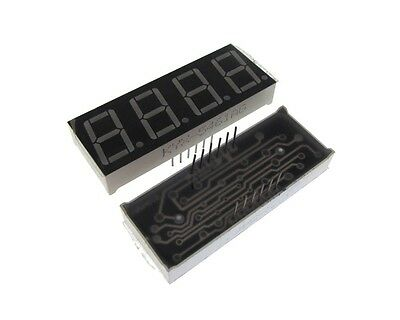 "0.56"" 4 Digit 7-Segment LED Display DIP common anode - Green"