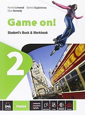 Game on! 2 +eb inglese, grammatica linwood/guglielmino [9788849419245]