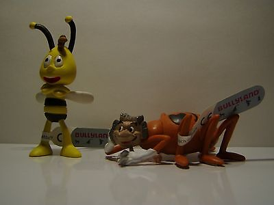 Bullyland Biene Maja == 2 x Bully Figuren Maya the Bee == Kuchendeko