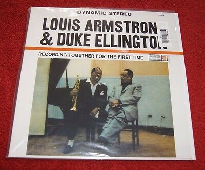 Louis Armstrong & Duke Ellington Together For The First Time Classic Records Lp