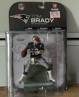 McFarlane NFL 18 wave 2 Tom Brady Patriots Clean Chase Variant