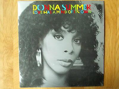 """Donna Summer Love Has A Mind Of It's Own 12"""" Single 1983 N/mint"""