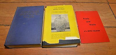American Historical Glass Early American Bottles & Flasks Price Guide book lot