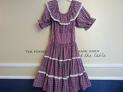 Red/White/Blue Square Dance Dress-pre-owned--handmade