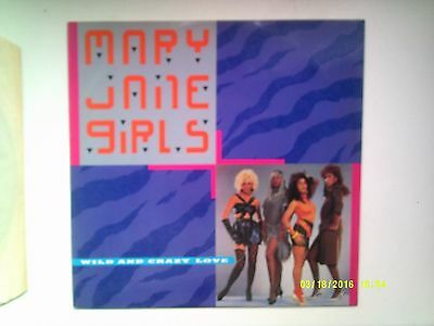 """Mary Jane Girls Wild And Crazy Love 12"""" Promo Single 1985 N/mint"""