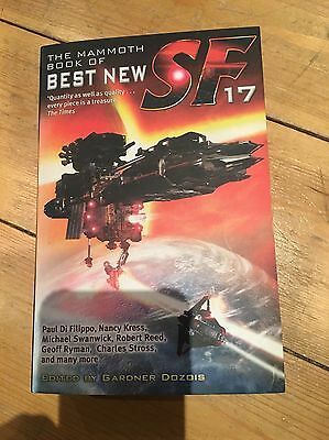 The Best New Sf 17 By Gardner Dozois Science Fiction Book. Rare