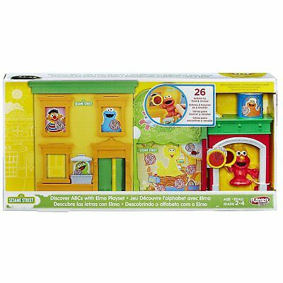 Playskool Sesame Street Discover ABCs with Elmo Playset by Sesame Street