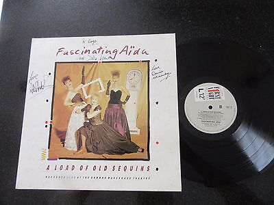 "Fascinating Aida - ""a Load Of Old Sequins"" Rare 1987 Lp, Fully Signed!"