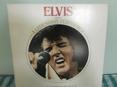 Elvis Presley A Legendary Performer VOL1 Vynil album