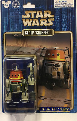 Disney Parks 2017 Star Wars Celebration Droid Factory  Astromech C1-10P Chopper