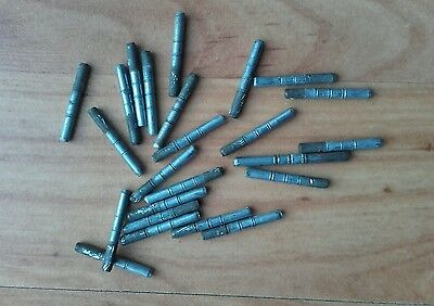 vintage Hornby O Gauge track pins Lot of 24