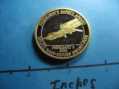 Sufco Mine Arch Coal Group President's Award 2006 Very Rare 999 Silver Gold Coin