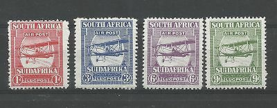 SOUTH AFRICA 1925 Airmail set, the forgeries (see note in SG) unmounted mint