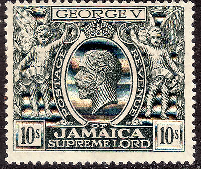 1921/29 GV Jamaica mint to 10/-, script CA, SG94/106 cat £140+